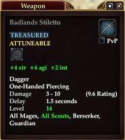Badlands Stiletto