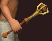 Cracked Warlock's Sceptre (Equipped)