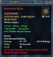 Embattled Blade