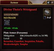 Divine Theist's Wristguard
