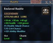Enslaved Bauble
