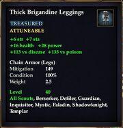 Thick Brigandine Leggings