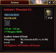 Initiate's Threaded Gi
