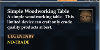 Simple Woodworking Table