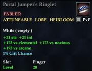 Portal Jumper's Ringlet