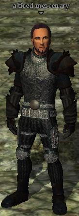 A tired mercenary