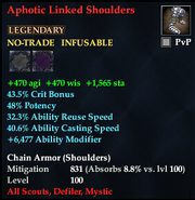 Aphotic Linked Shoulders