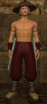 Adept Blood Hide (Armor Set) (Visible, Male)