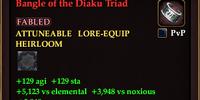 Bangle of the Diaku Triad