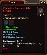 Cenobite's Breeches of the Citadel