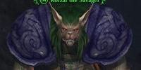 Korzar the Savager