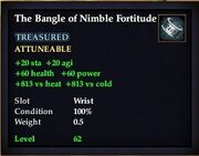 The Bangle of Nimble Fortitude
