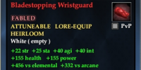 Bladestopping Wristguard
