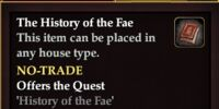 The History of the Fae
