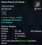 Forest Pouch of Gloom