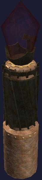 Red Clockwork Lamppost (Visible)