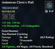 Antonican Cleric's Flail