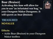 Boar (Bruiser)
