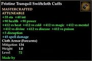 Tranquil Swiftcloth Cuffs