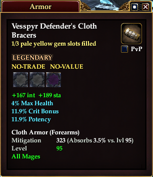 Vesspyr Defender's Cloth Bracers (1 of 3)