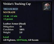 Viridar's Tracking Cap