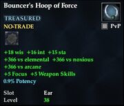 Bouncer's Hoop of Force