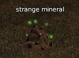strange mineral