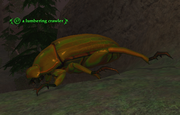 A lumbering crawler