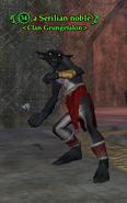 A Serilian noble (goblin)