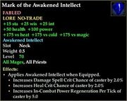 Mark of the Awakened Intellect