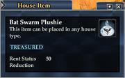 Bat Swarm Plushie