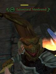 NPC Talonlord Steelrend