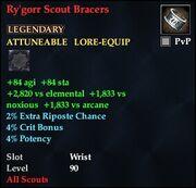Ry'Gorr Scout Bracers