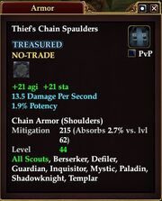 Thief's Chain Spaulders
