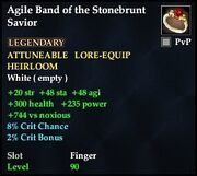 Agile Band of the Stonebrunt Savior