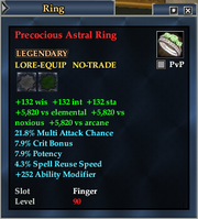 Precocious Astral Ring
