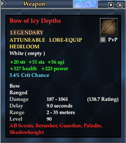 Bow of Icy Depths
