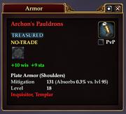 Archon's Pauldrons