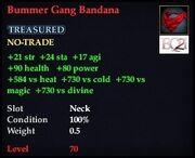 Bummer Gang Bandana