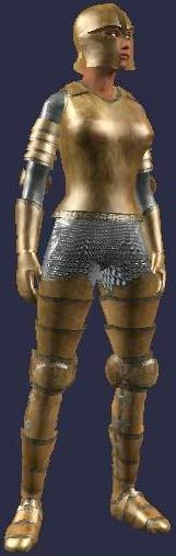 Carbonite platemail (female)