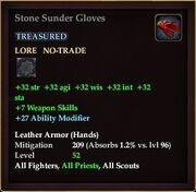 Stone Sunder Gloves