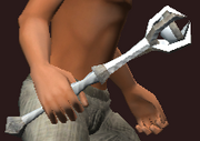 Summoner's Runic Sceptre (Equipped)