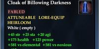 Cloak of Billowing Darkness