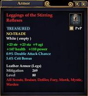 Leggings of the Stirring Reflexes