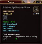 Scholar's Spellwoven Gloves