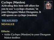 Cyclops (Warden)