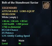 Belt of the Stonebrunt Savior
