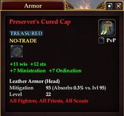 Preserver's Cured Cap