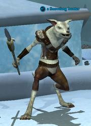 A Snowfang hunter