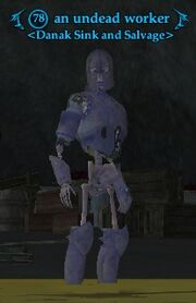 An undead worker